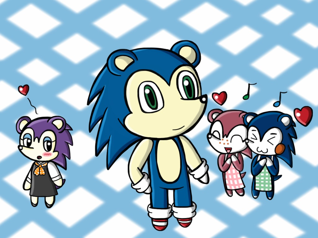 Sonic In Animal Crossing Animal Crossing Know Your Meme