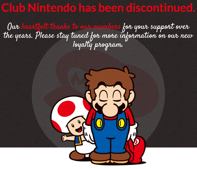 Thank You So Much For Using Club Nintendo Nintendo Know Your Meme