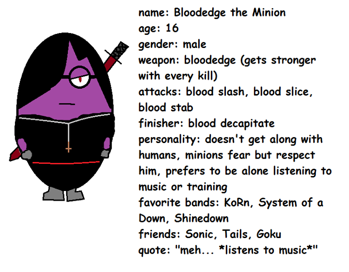 Bloodedge The Minion Minions Know Your Meme