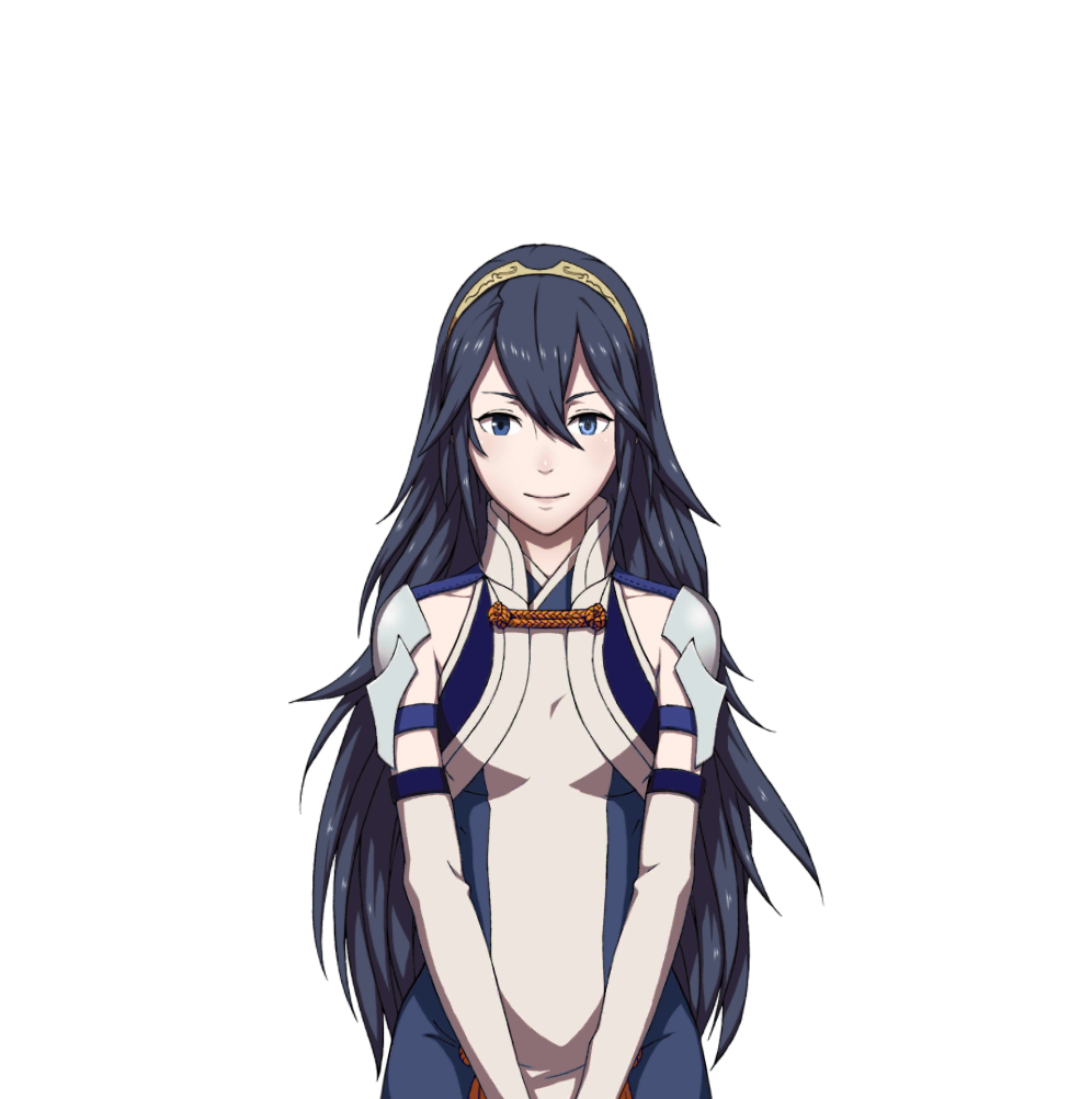 somebody on 4chan made lucina using matoi as a base fire emblem
