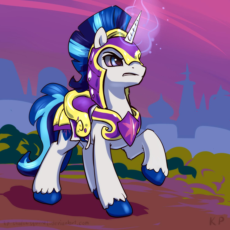speedpaint 34 shining armor by kp shadowsquirrel my little pony