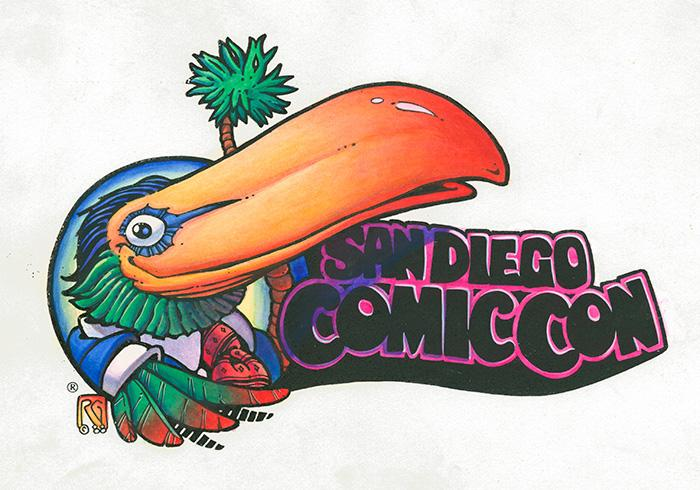 Image result for san diego comic con toucan