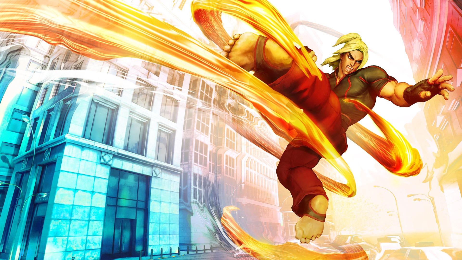 Ken S Offical Artwork In Street Fighter 5 Street Fighter Know