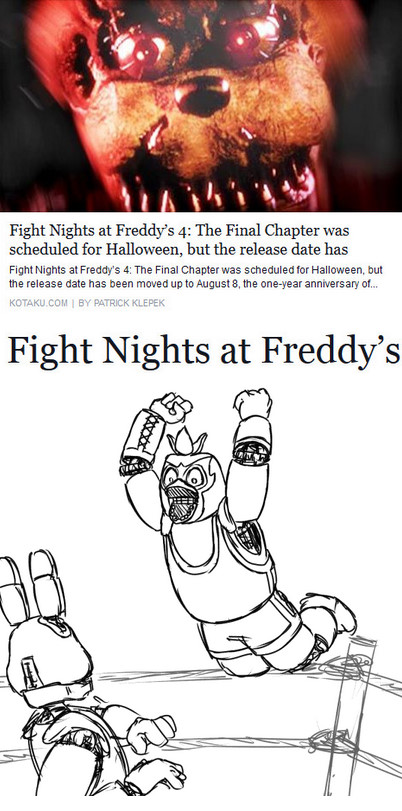 Fight Night | Five Nights at Freddy's | Know Your Meme