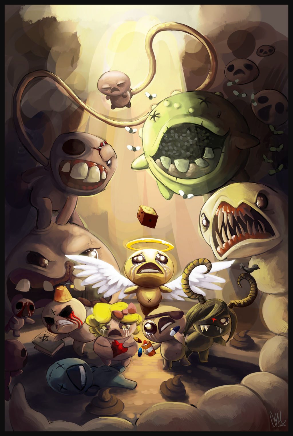 Cool Fanart The Binding Of Isaac Know Your Meme