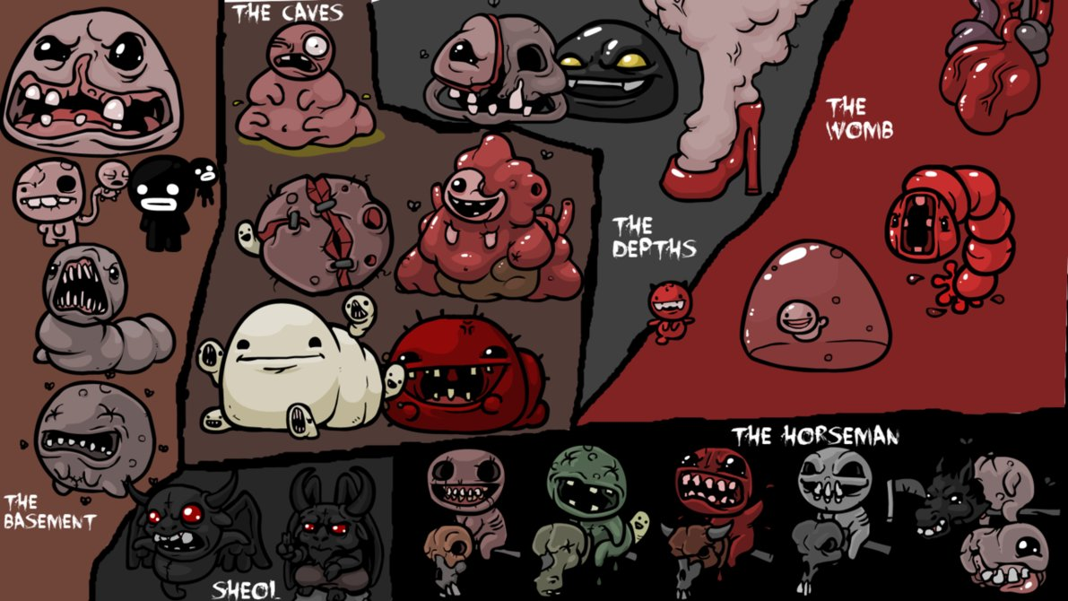 Bosses The Binding Of Isaac Know Your Meme