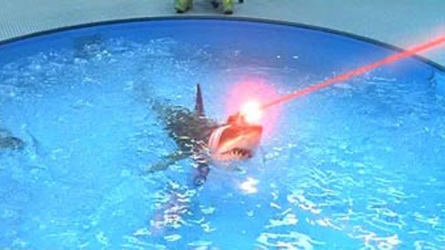 Sharks With Frickin Laser Beams Sharks Know Your Meme