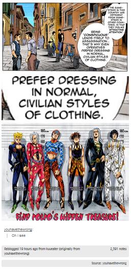 Jojo Weird Clothes 4