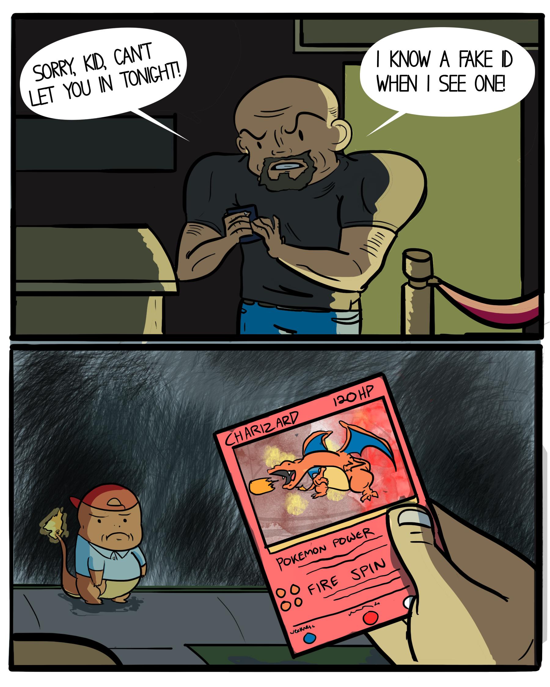 Pokémon Id Know Fake Meme Your