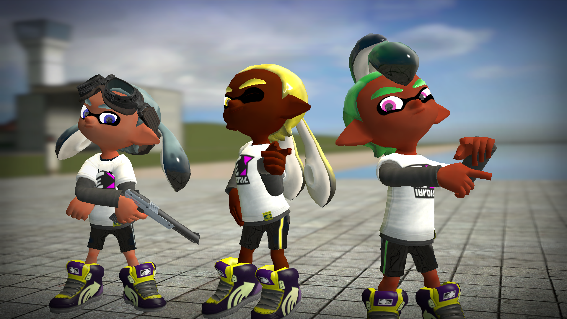 New Hairstyles For Inkling Boys Splatoon Know Your Meme
