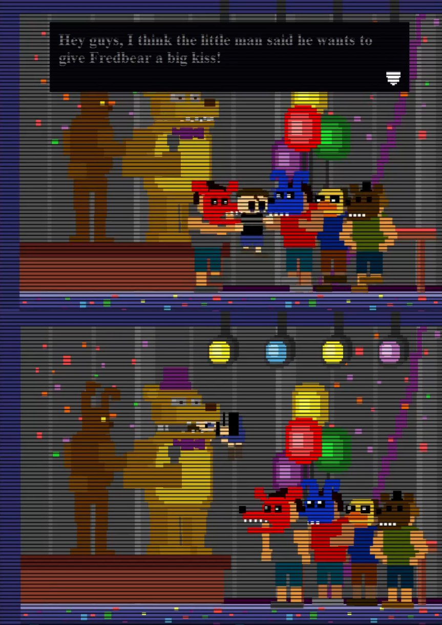 in the end the real monsters are the humans five nights at