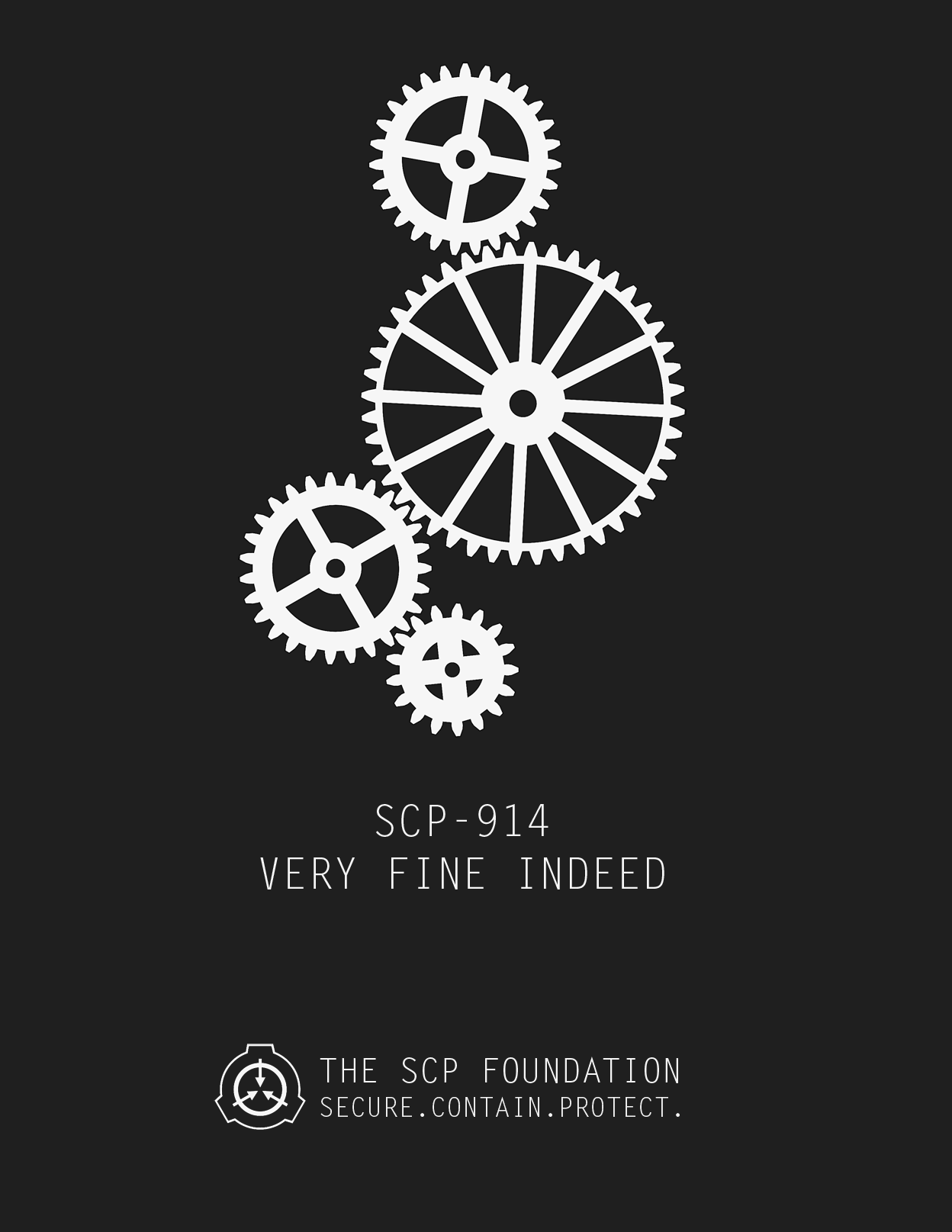 Scp 914 The Clockworks Poster By Dr Kens Scp Foundation Know