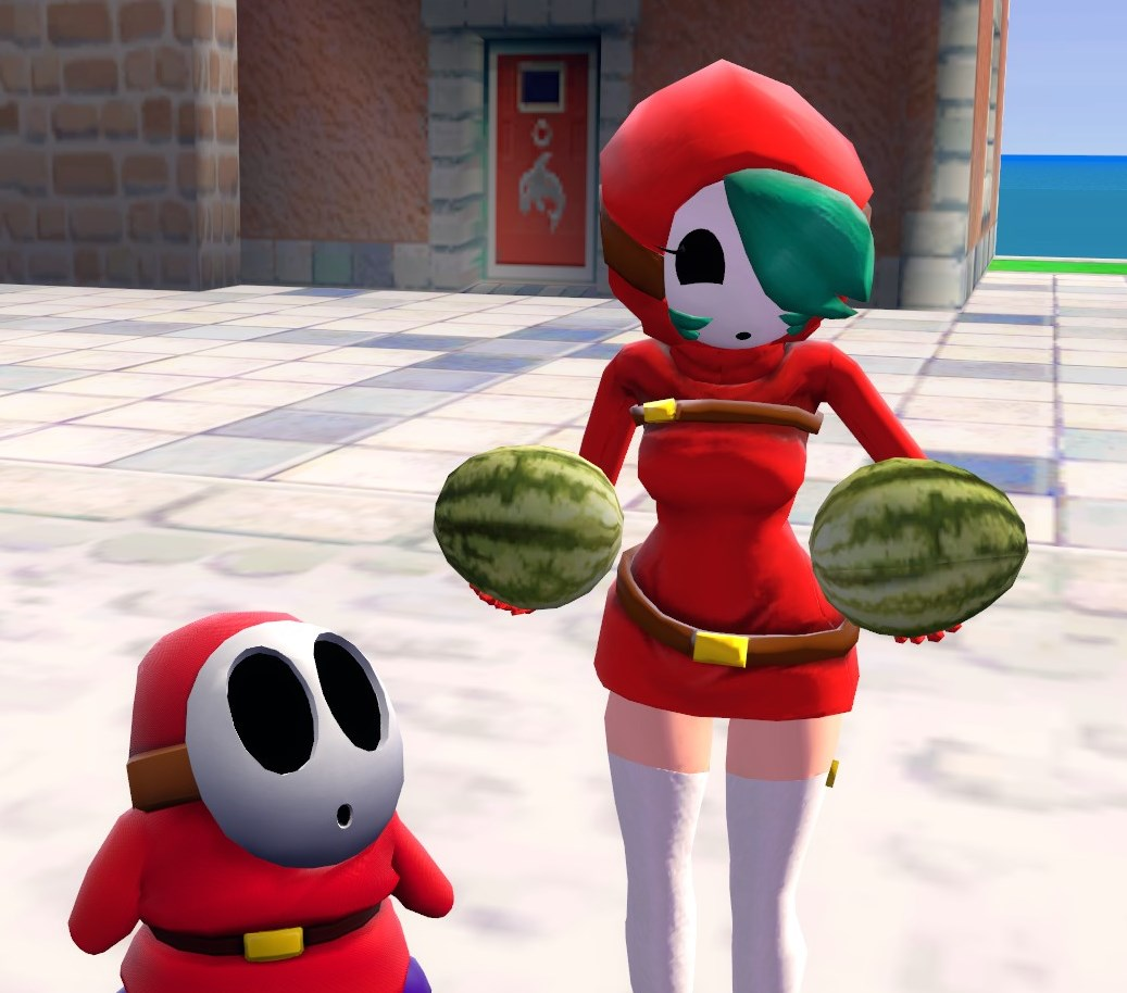 Look at those Melons! | Shy Guy | Know Your Meme