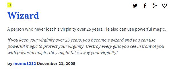 Wizard Definition 1  30-Year-Old Virgin Wizard  Know -7537