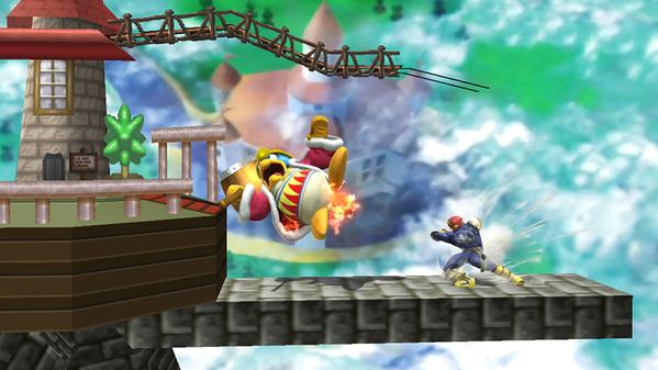 Gameplay Screenshot Of Ssb4 S Peach S Castle 64 Super
