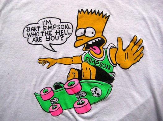 i m bart simpson bootleg bart know your meme