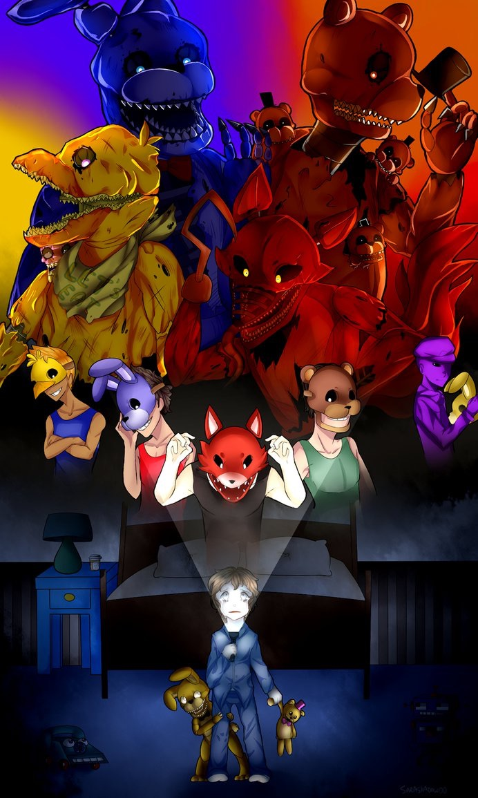Five Nights At Freddys 4 2 Sister