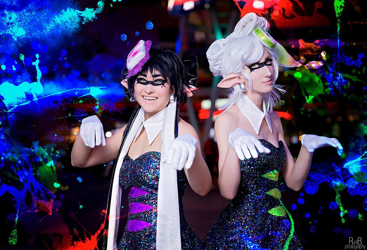 Shall splatoon callie and marie cosplay