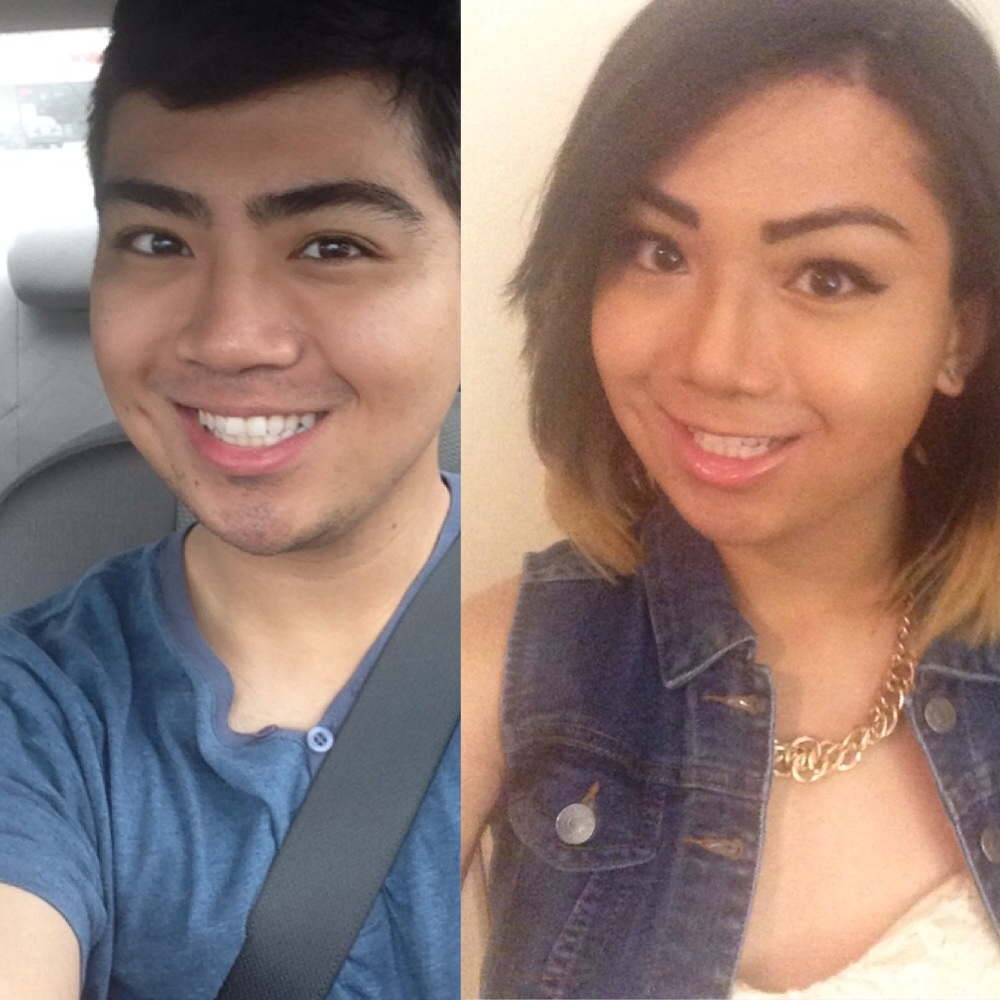 and Transgender mtf after before