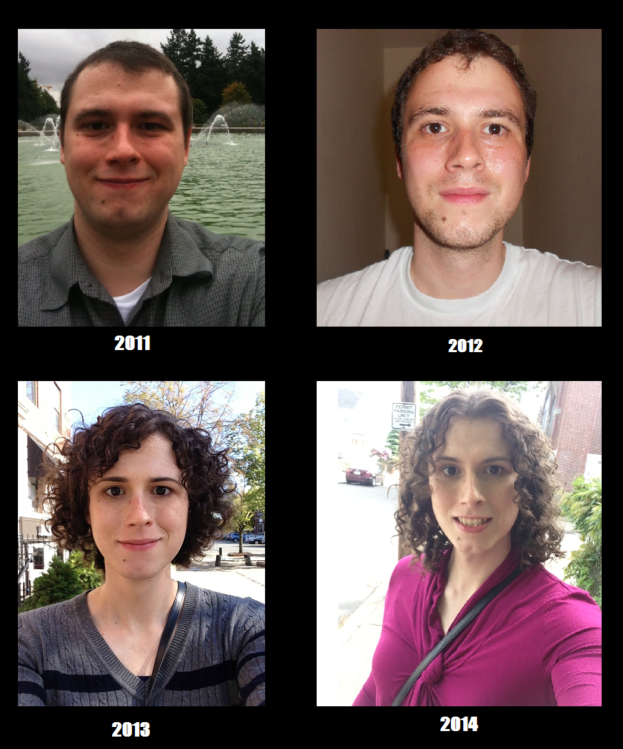 Transsexual transition hormones