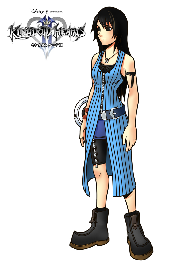 Rinoas Kh Design Kingdom Hearts Know Your Meme
