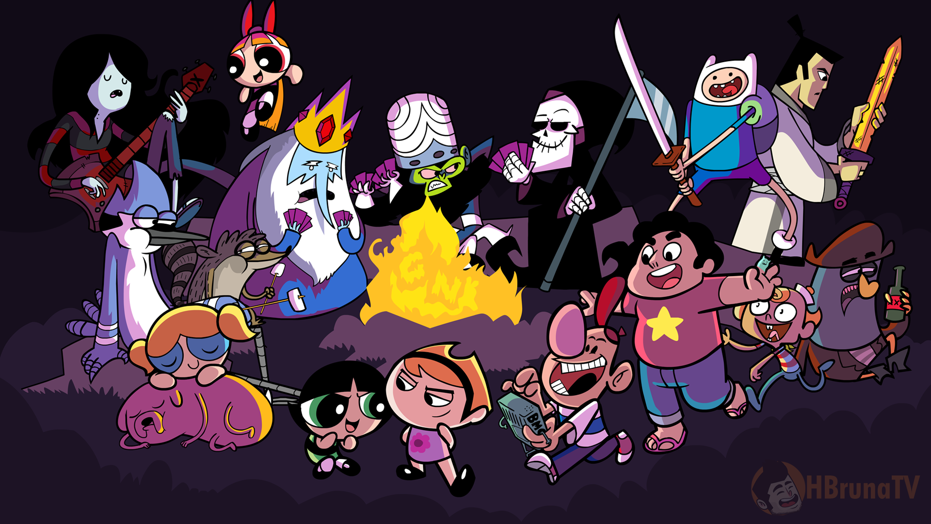 98 Cartoon Network Crossover Crisis Deck Building Game Ludopedia