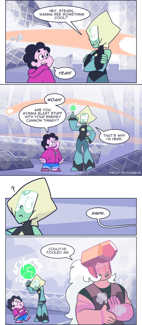 Just Give Her 2 Seconds To Cheer Up The Kid Omg Steven