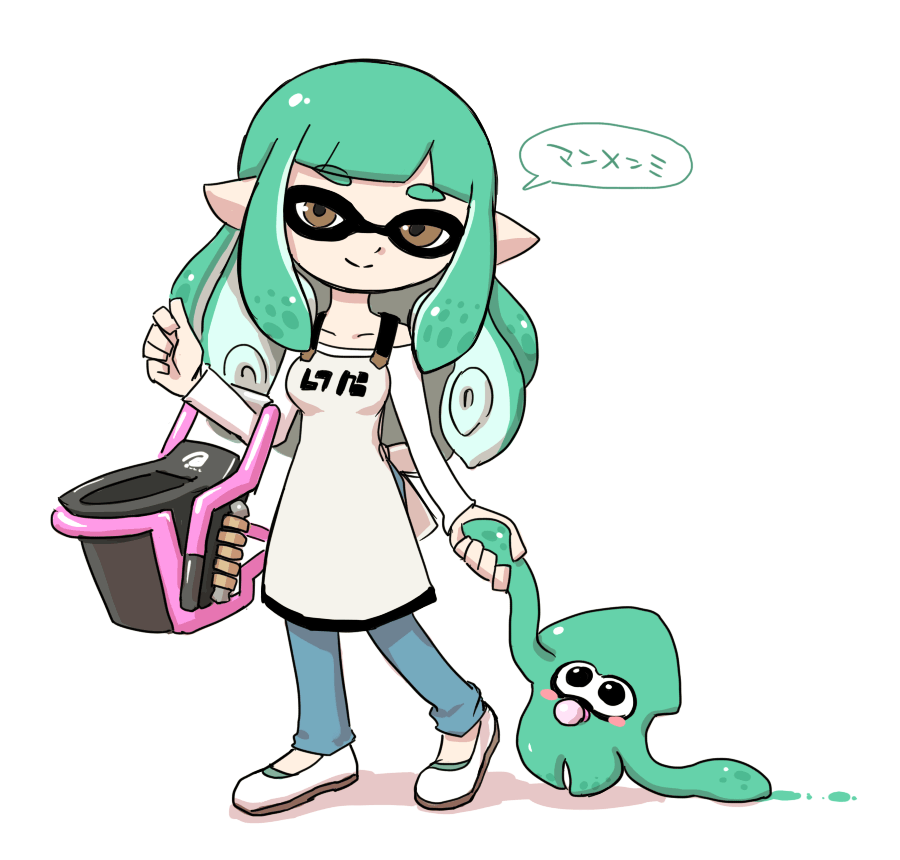 Squid Mom And Her Baby  Splatoon  Know Your Meme-5697