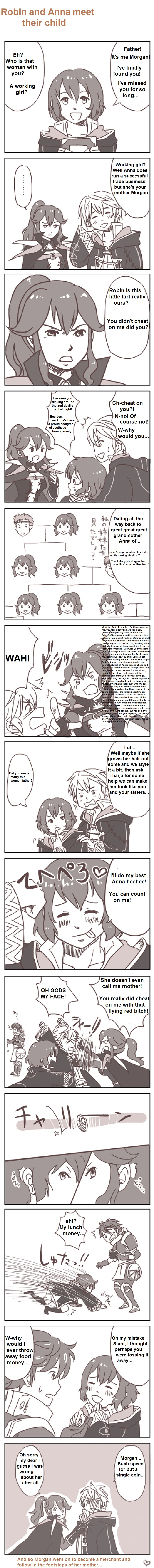 Robin and Anna meet their Child | Fire Emblem | Know Your Meme