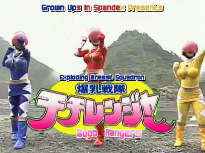 Super Sentai Porn Parody
