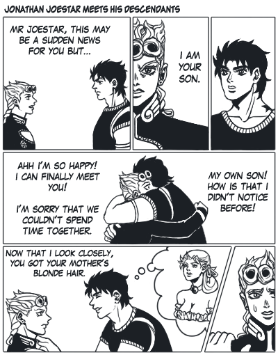 A Very Awkward First Meeting Jojos Bizarre Adventure Know Your Meme