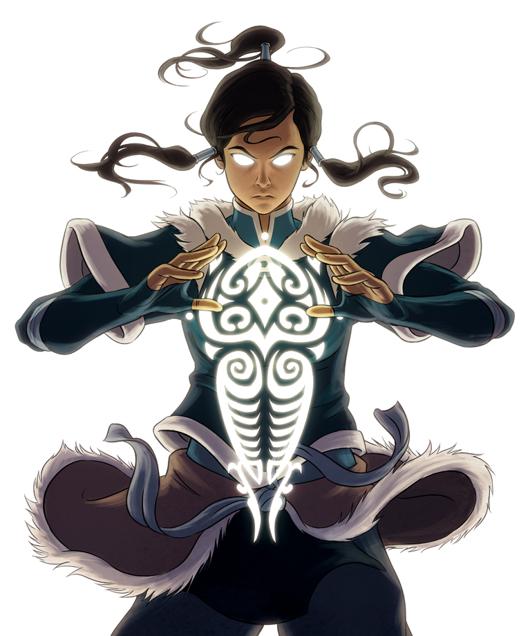 Cover Art For The Legend Of Korra Complete Series DVD/Blu