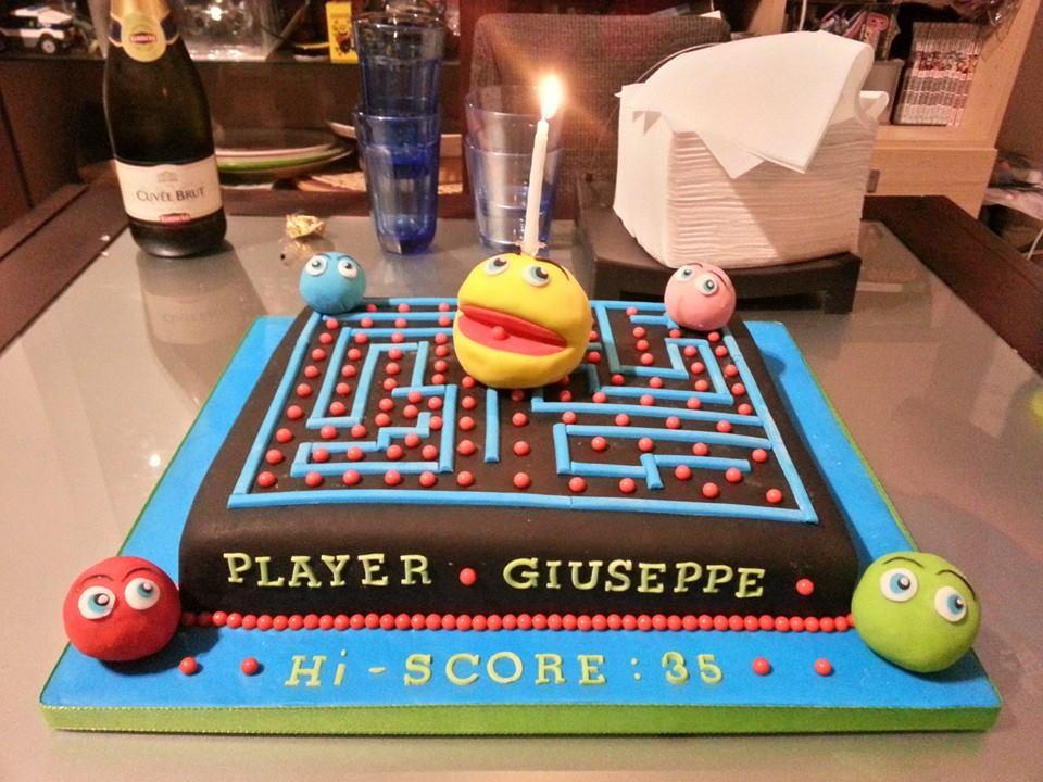 Pleasant Pac Birthday Cake Pac Man Know Your Meme Funny Birthday Cards Online Alyptdamsfinfo
