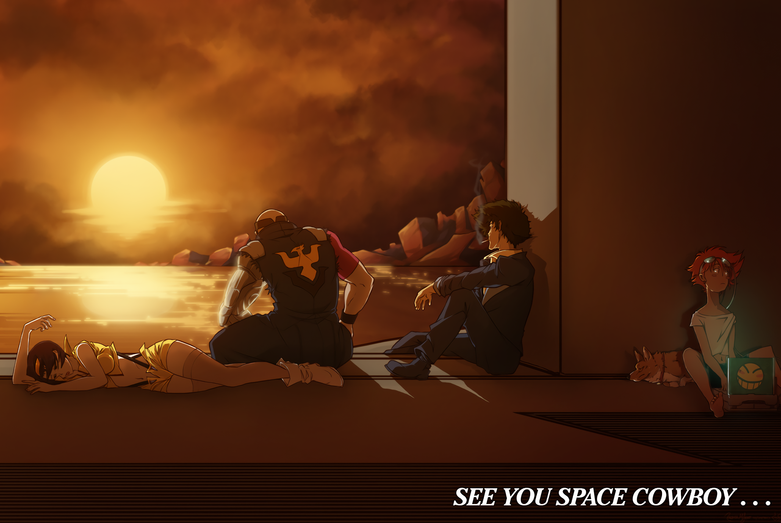 SEE YOU SPACE COWBOY·.
