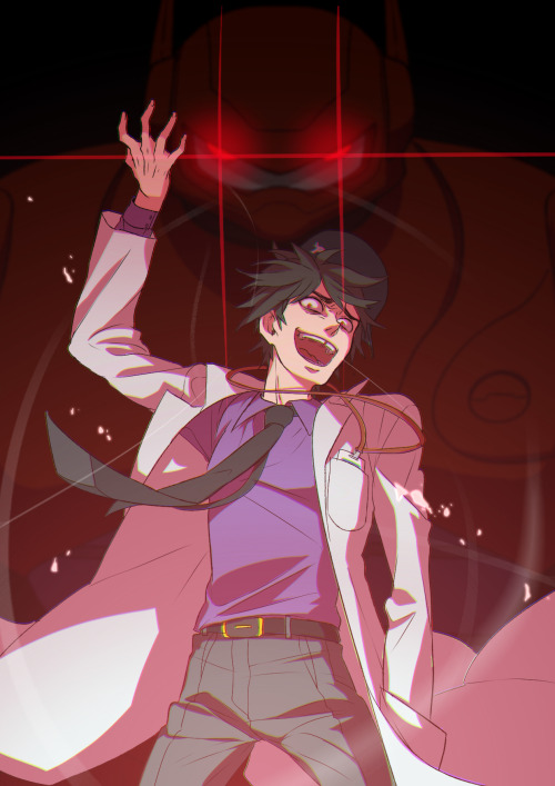 Au Evil Hiro Big Hero 6 Know Your Meme