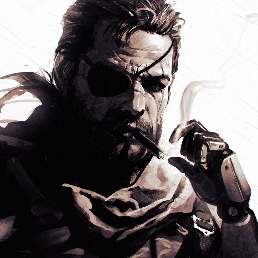 Big Boss Metal Gear Solid V Know Your Meme