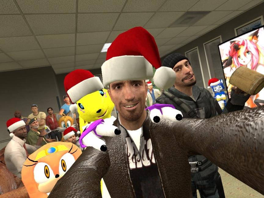 Gmod, Merry Christmas! | Garry's Mod | Know Your Meme