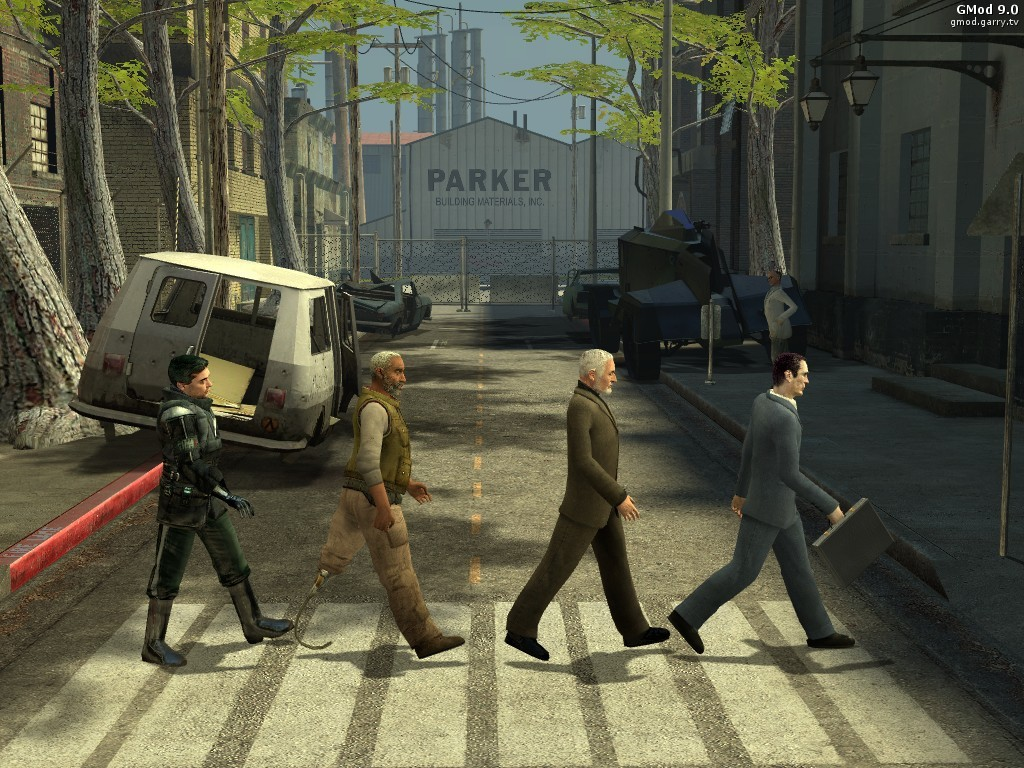 abbey road in gmod garry s mod know your meme