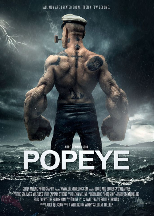 movie poster trailer popeye the sailor man know your meme