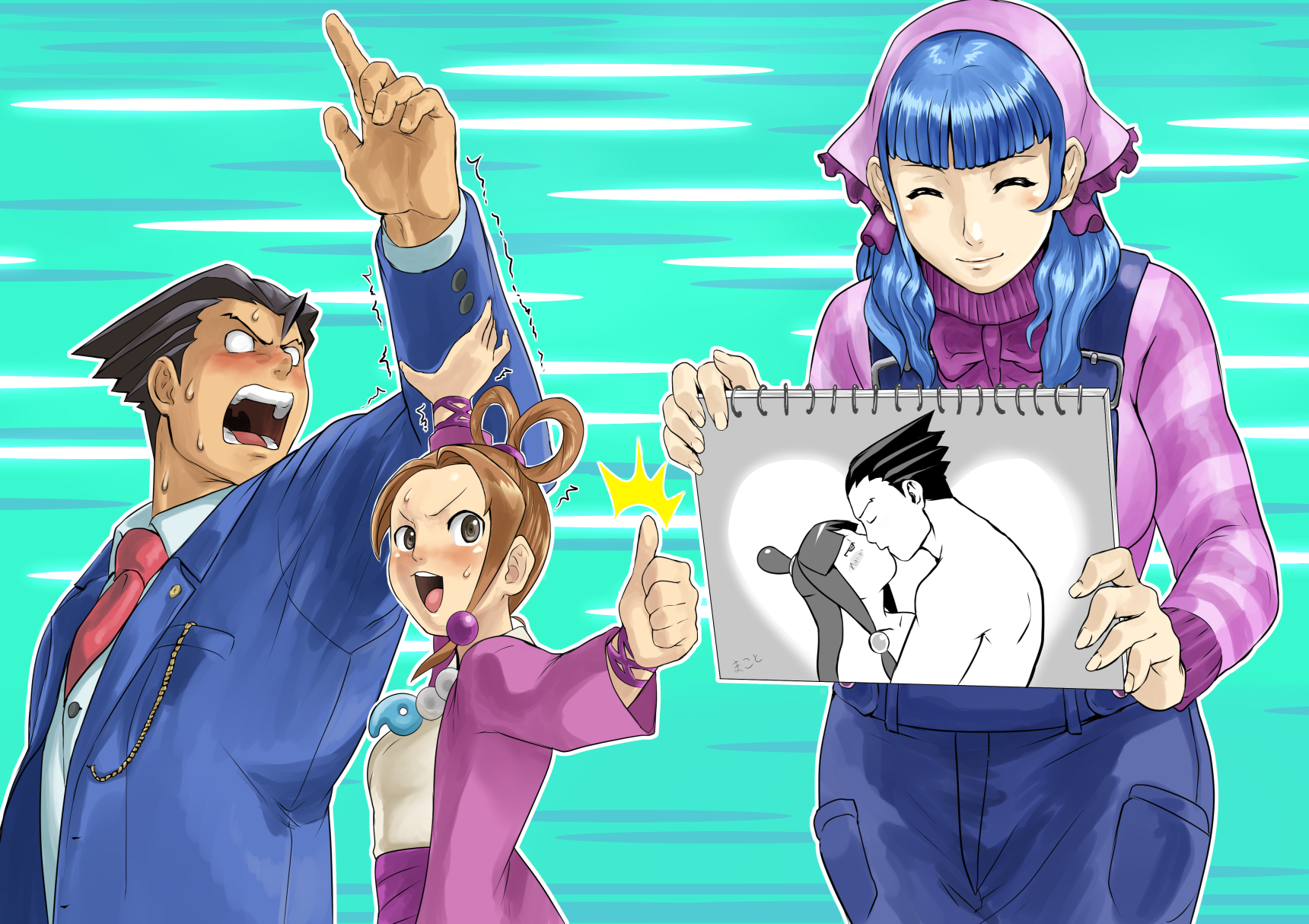 Objection Overruled Phoenix Wright Ace Attorney Know Your Meme