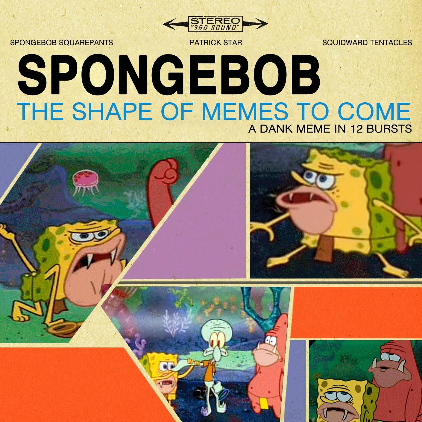 Spongegar primitive sponge caveman spongebob the shape of memes yet to come