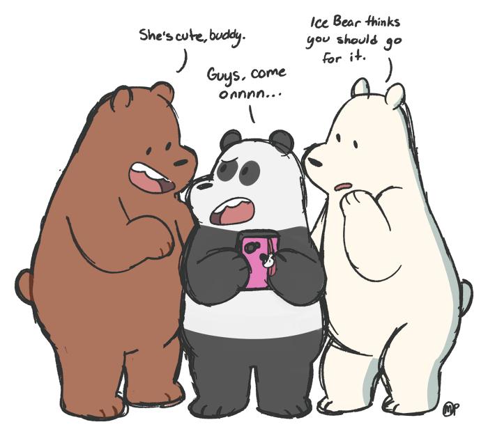 Pandas Wingbears We Bare Bears Know Your Meme
