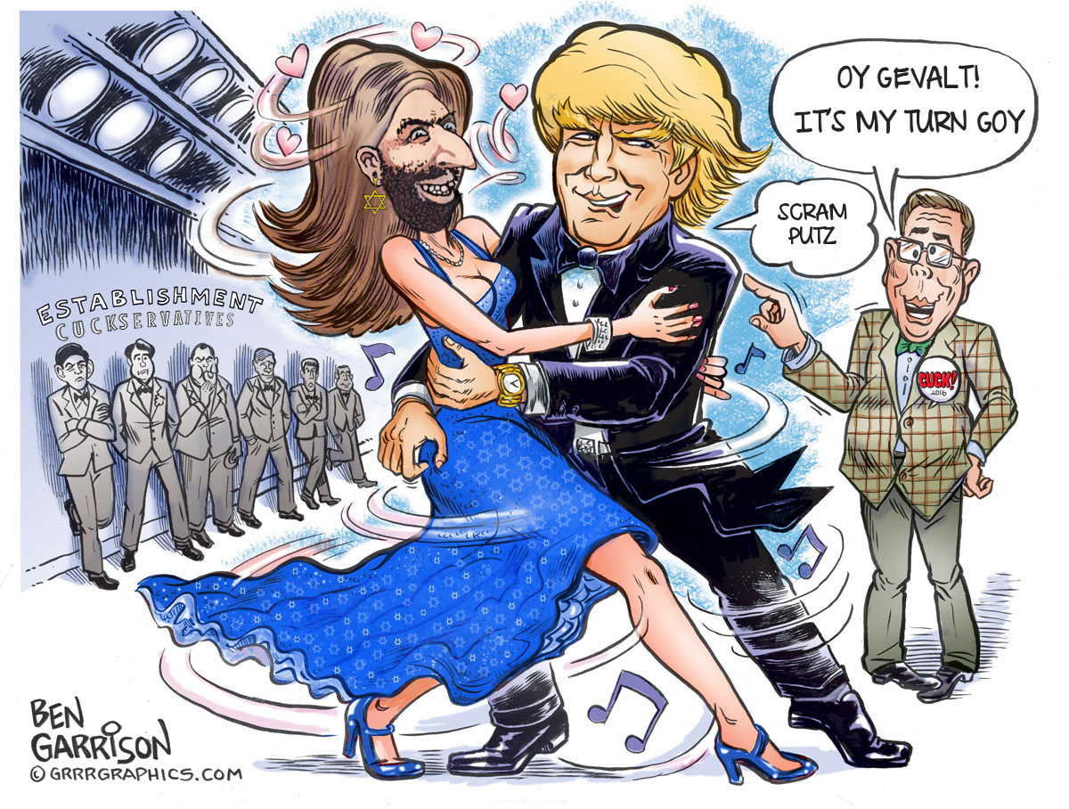 ben jew dance ben garrison know your meme