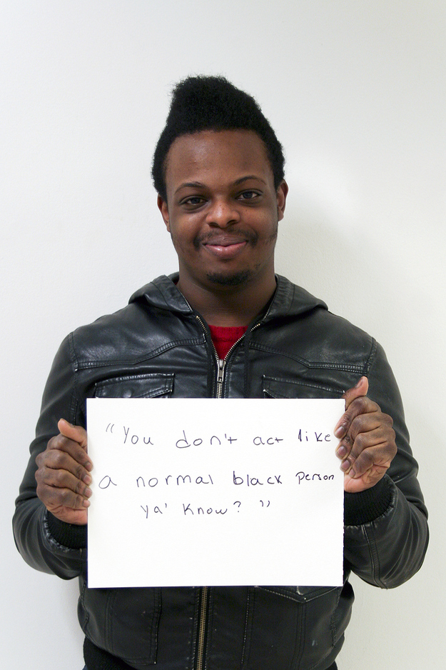You Dont Act Like A Normal Black Person Microaggression Know