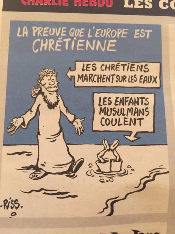 Charlie Hebdo satirizes Aylan Kurdi's death Pt  2 | Kiyiya