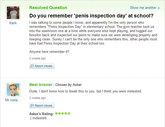 Penis Inspection Day   Penis Inspection Day   Know Your Meme