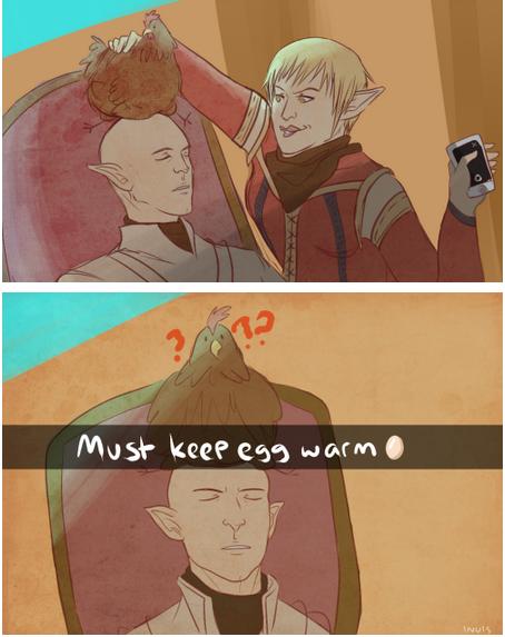 Egging Around Dragon Age Know Your Meme