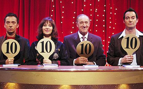 10 10 Len Goodman Craig Revel Horwood Bruno Tonioli Strictly Come Dancing