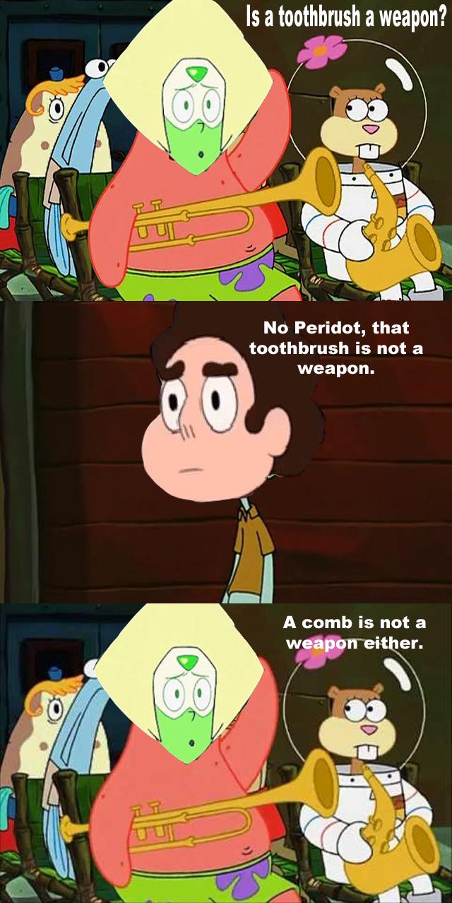 Spongebob Steven Universe Meme