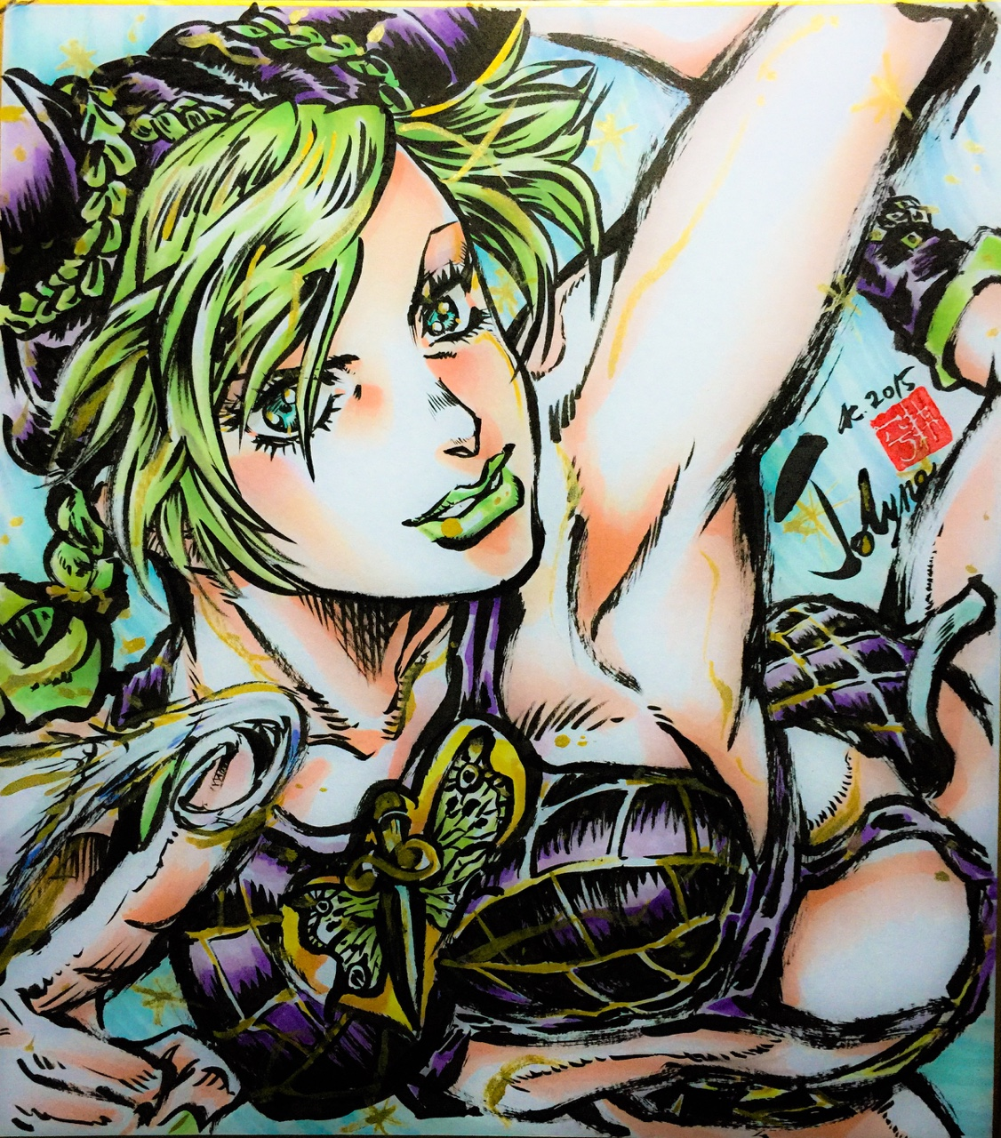 Jolyne By The Anime Director